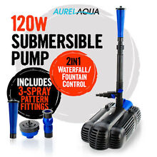 AURELAQUA Submersible Dirty Water Pump Fountain Garden Pond Pool Wolli Creek Rockdale Area Preview