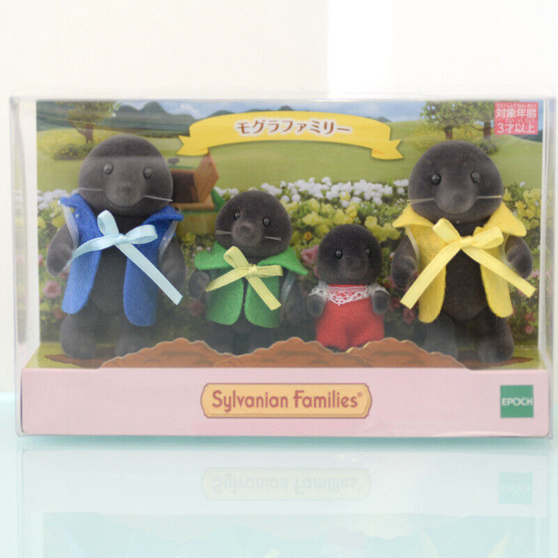 Sylvanian Families MOLE FAMILY Calico Critters Japan 2019