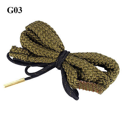 Brass Bore Snake Gun Cleaning .38 Cal .357 Cal .380 Cal & 9mm  Cleaner G03