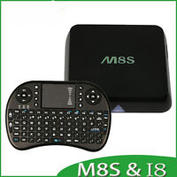 M8S - Fastest Android Smart TV Box - Fully Loaded! w/ Keyboard