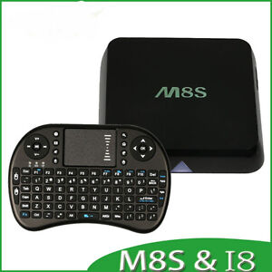 M8S - Fully Loaded - Fastest Android TV Box - Get free TV today!