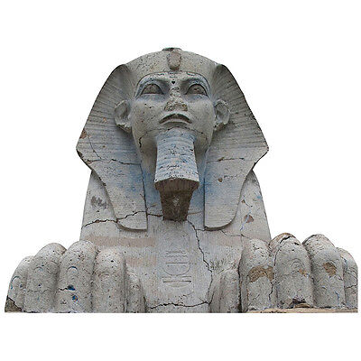SPHINX Egyptian Monolith CARDBOARD CUTOUT Standup Standee Poster FREE SHIPPING (Egyptian Party Decorations)