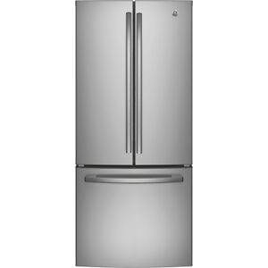 FRIDGE GE 21CU FRENCH DOOR STAINLESS STEEL OR SLATE OPEN BOX