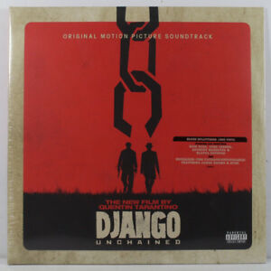 Django Unchained Soundtrack Blood Splatter LP
