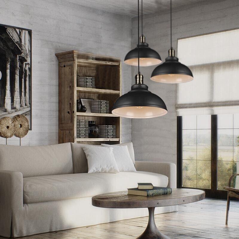 Warehouse Barn Light Fixtures: Industrial Loft Warehouse Barn Pendant Lamp Indoor Hanging