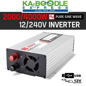 2000W Pure Sine Wave Inverter VARIOUS SIZES- FREE DELIVERY! Brisbane City Brisbane North West Preview