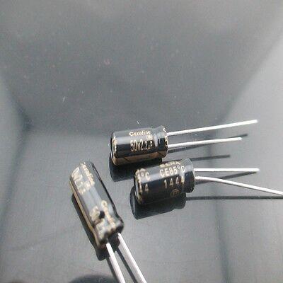 30pcs Elna Cerafine Roa 2.2mfd 50v 2.2uf 5x11mm Electrolytic Capacitor