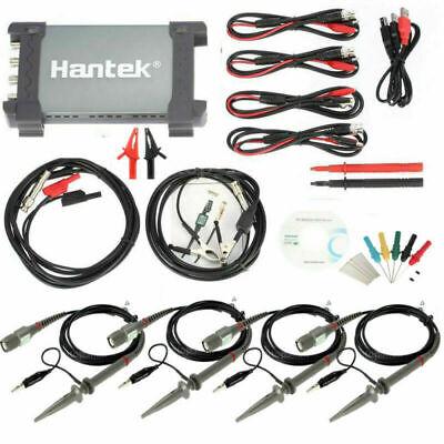 Hantek Diagnostic Tool 6254be Usb 1gsas 250mhz Auto Digital Oscilloscope 4ch