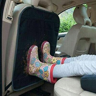 Black Car Seat Back Protector Cover For Children Kick Mat Mu