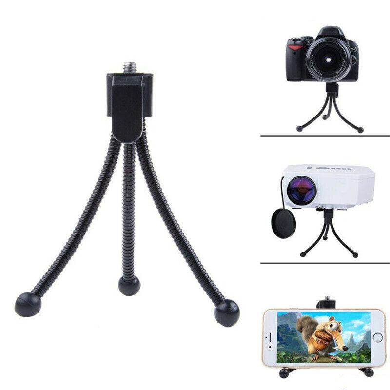 Universal Mini Projector Stand 1/4inch Tripod Mount Holder F