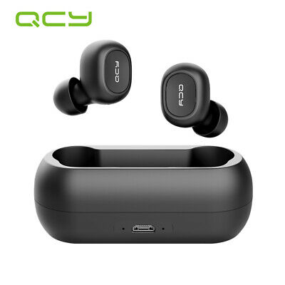 QCY TWS Earbuds Wireless Bluetooth Headset Earphones Stereo Waterproof Headphone