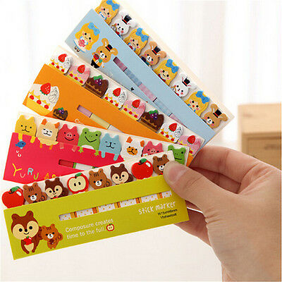 Kawaii Cartoon Paper Scrapbook Stickers Stationery Sticky Notes Planner New Dn
