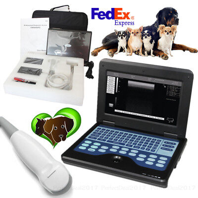 Veterinary Ultrasound Scanner Laptop Machine Micro Convex Probe For Cat Dog Pet