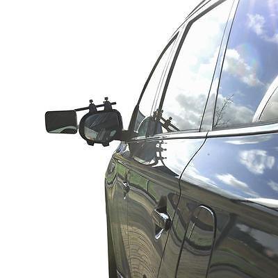 2 Stück Caravanspiegel DeLuxe Wohnwagenspiegel Spiegel Universal Aufsteckspiegel