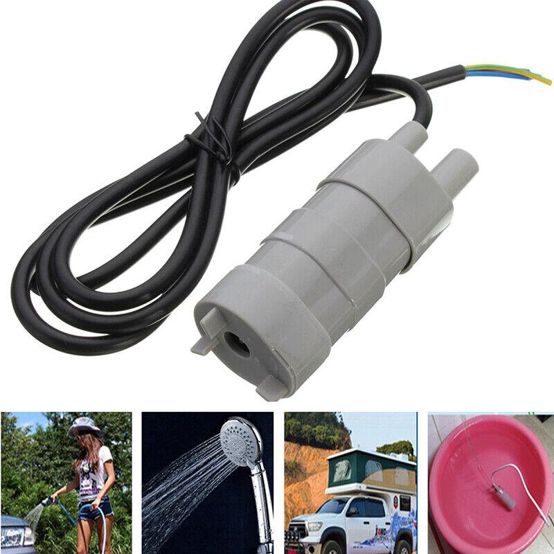 DC Tauchpumpe 12V 10 Liter 600L//H Pumpe-Wasserpumpe NEU Wohnwagen Camping Garten