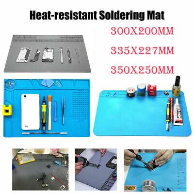 Heat Resistant Silicone Work Pad Soldering Repair Mats Platform Multi-function