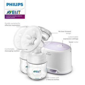 NEW Philips Avent Comfort Double Electric Breast Pump