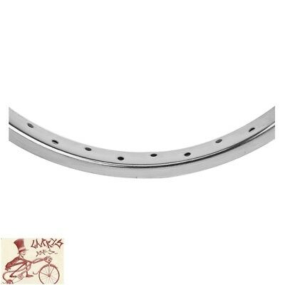 "WHEEL MASTER 013 STEEL   36H---26"" x 1.75 CHROME BICYCLE RIM"