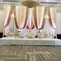 Wedding Decoration Backdrop, Centerpiece and flowers