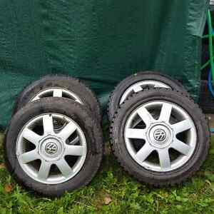 VW alloy tires and rims