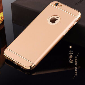 IPhone 6 6S Luxury Cases Gold* Pink* Black* Screen Protector