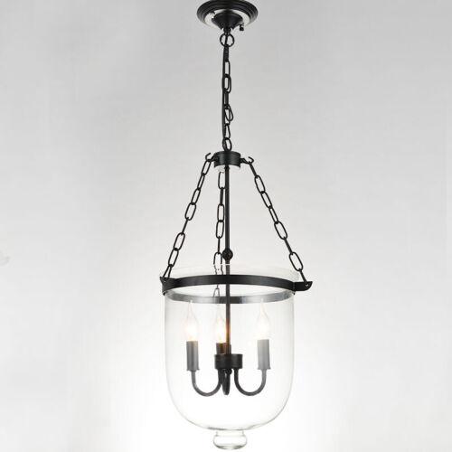 Details About 30cm 11 81 Gl Lantern Pendant Pottery Barn Style Chandelier Dining Lighting
