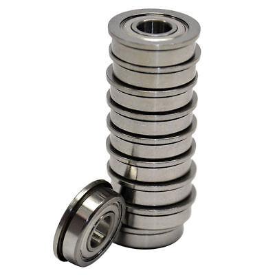 10 R4zz 14x 58x 0.196 R4z Inch Miniature Ball Shielded Radial Ball Bearings
