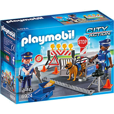 Playmobil City Action Police Roadblock 6924 NEW