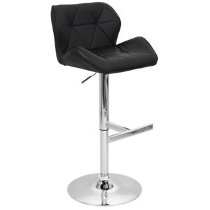BRAND NEW FAUX LEATHER BAR STOOL ADJUSTABLE