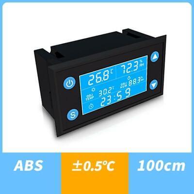 Ac 110v-220v Temperature Humidity Controller Timer Sht20 Sensor Thermostat Lcd