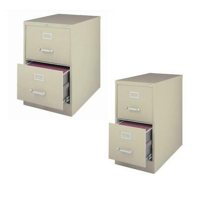 Value Pack 2 Drawer File Cabinet And Letter File Cabinet Set In Putty