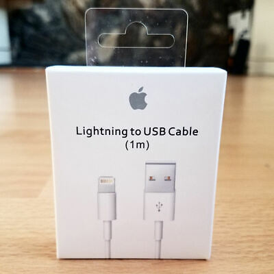 Original OEM 3ft Apple iPhone XS Max X 8 7 6 Plus Lightning USB Cable Charger 1M