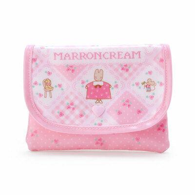 Marron cream tissue & case retro tissue Pouch Pink Sanrio Kawaii 2020 NEW