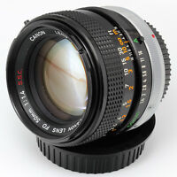 FD 50mm f1.4 Canon Manual Focus lens