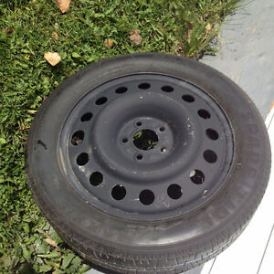 New spare tire and rim for Ford
