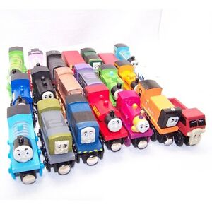 New Lot of 12pcs Wooden Train Sets Thomas the Tank Engines (Chosen by you)