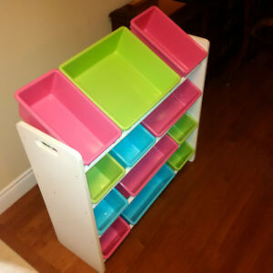 Honey Can Do SRT-0160 Sort Store Twelve Toy Organizer