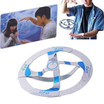 Amazing Mystery UFO Floating Flying Disk Saucer Magic Cool Trick Toy Gift