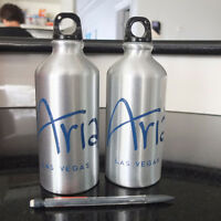 2 BRAND NEW Aria Stainless Steel Water bottles - 500mL