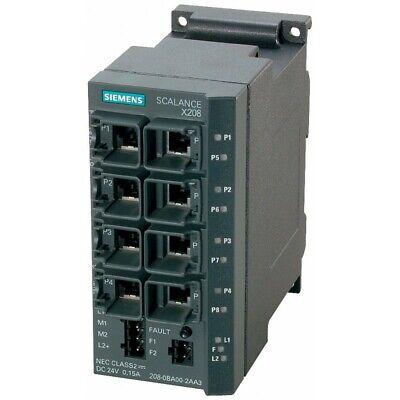 Siemens 6gk5208-0ba10-2aa3 Industrial Control System