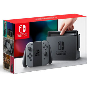 Nintendo Switch Gray and Black