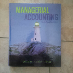 Managerial Accounting 10th Canadian Edition Garrison