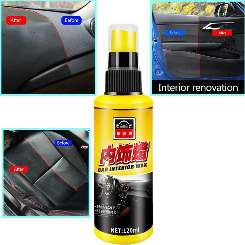 120ml Car Wax Auto Interior Rer