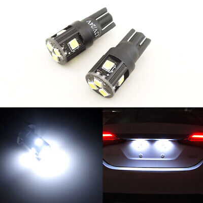 194 Type Led Replacement Bulb (Bright Xenon White Car Truck License Plate Lights T10 168 2825 W5W SMD LED Bulbs )