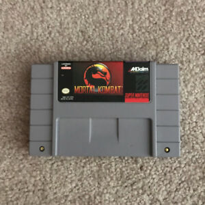 SUPER NINTENTDO - Mortal Kombat