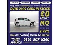 Volkswagen Golf 2.0TDI ( 140ps ) 2012MY GT LOW WEEKLY PAYMENTS £42