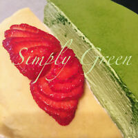 Simply Green - Mille Crepes (Crepe Cakes) Niagara Regions 千层蛋糕