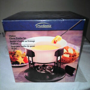 10 Piece Cheese Fondue Set