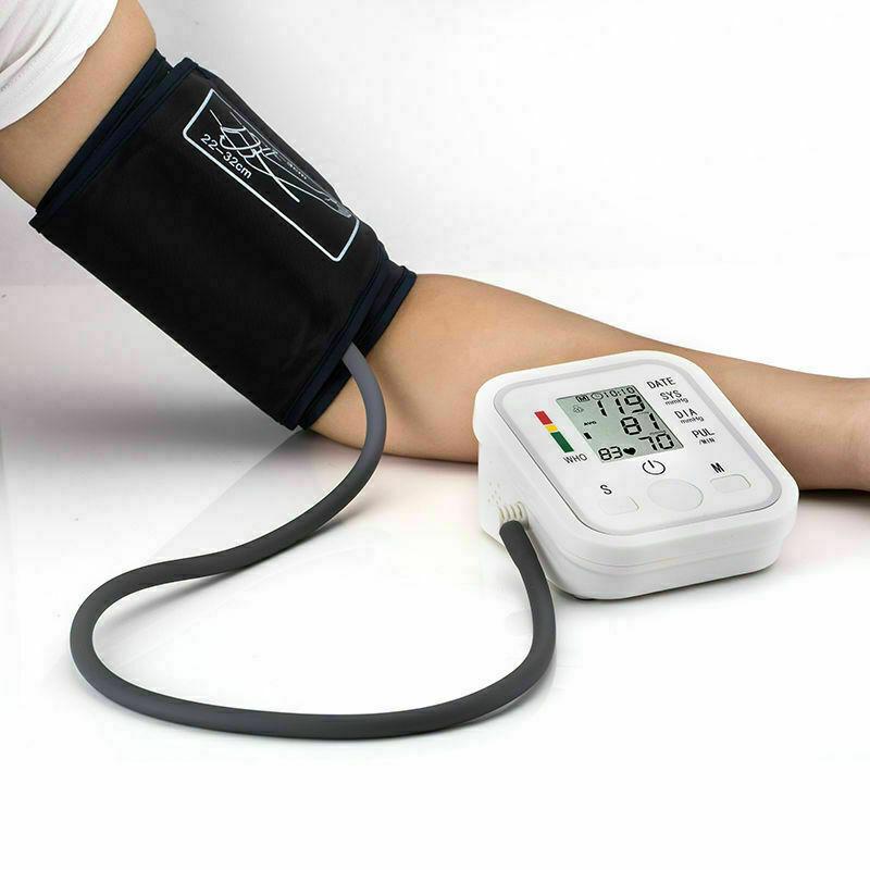 Upper Arm Blood Pressure Pulse Monitor Health Care Digital L