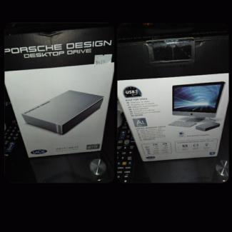 PORCHE Design 8TB Desktop Harddrive